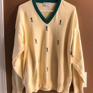 Lord Jeff vintage golf sweater